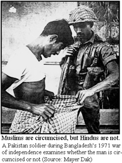 Bangladesh 1971: Pakistan soldier checks man circumcised or not