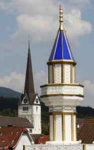 minaret of christian churches