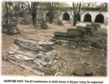 Satth-Kabar sixty graves of Afzal khan's wives