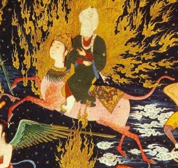 prophet-muhammad-buraq-ride-to-heaven