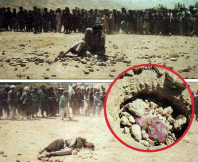 Islamic stoning of adulterers