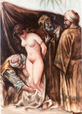 arab-muslim-sheikhs-examine-slave-for-sex